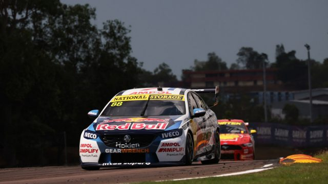Whincup defeats McLaughlin in Darwin finale