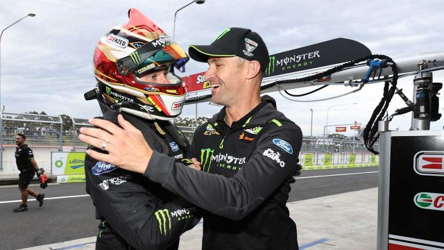 Waters scores Bathurst pole with record lap