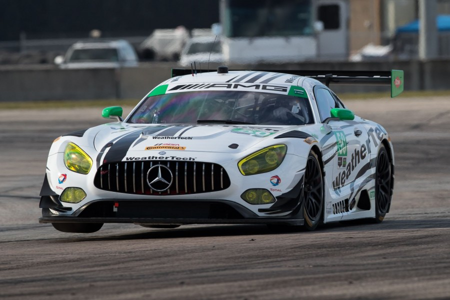 WeatherTec's Mercedes at Sebring