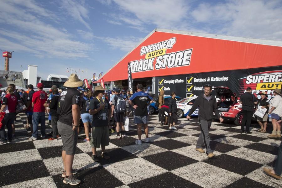 during the Supercheap Auto Bathurst 1000, in Bathurst, Australia, October 10, 2015.