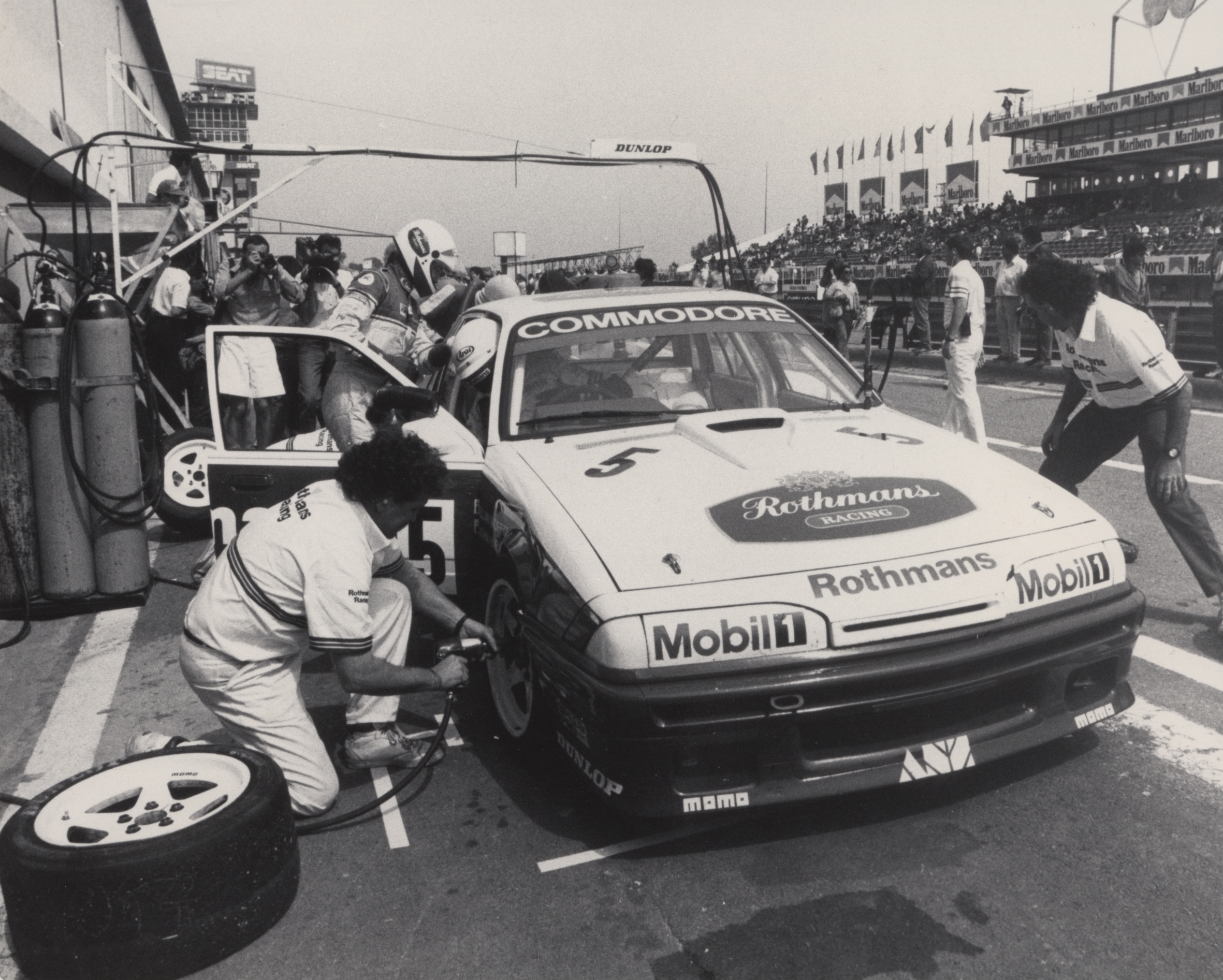 Moffat Harvey Monza 1987