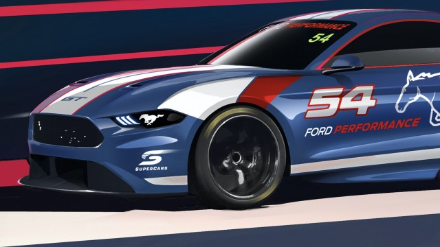 Ford previews look of Supercars Mustang