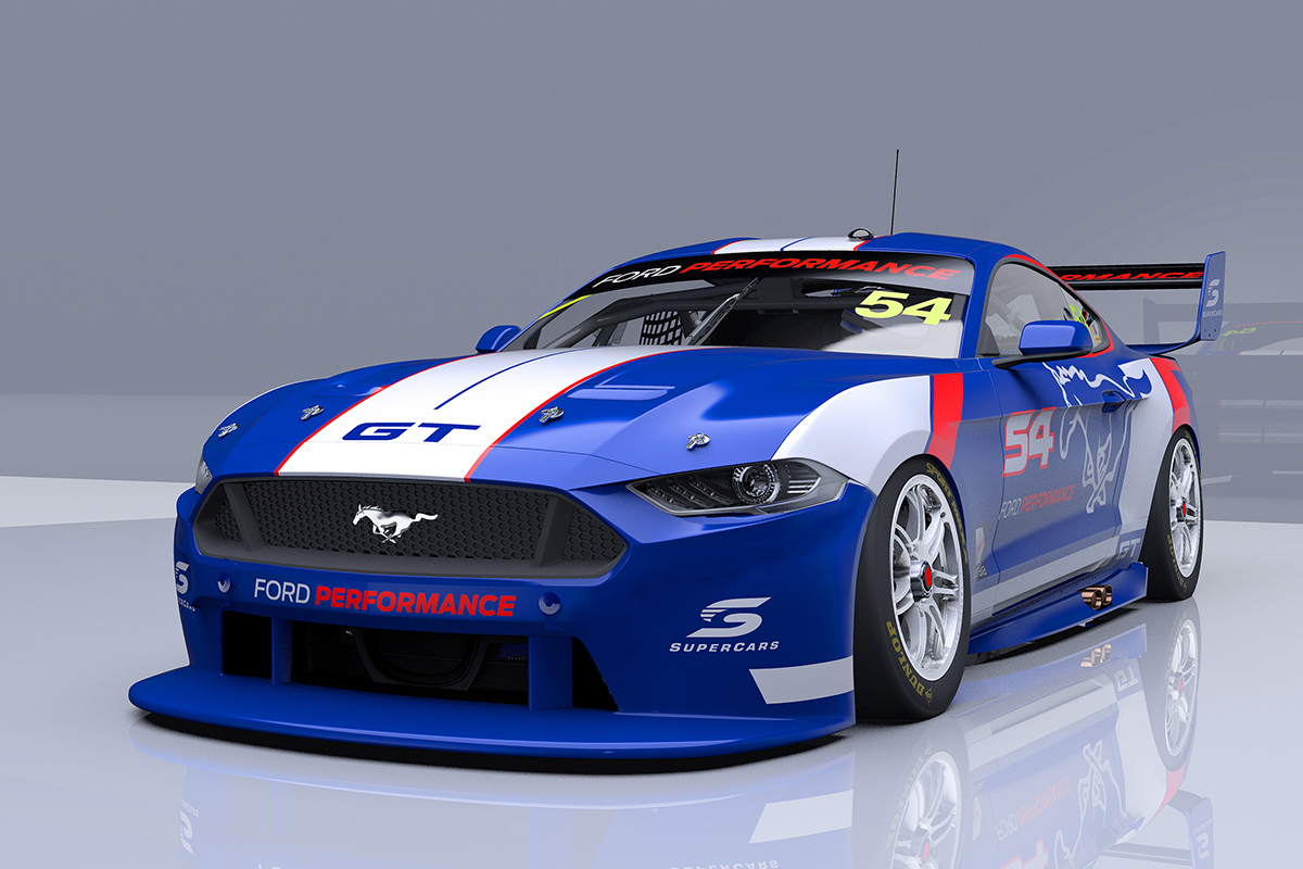 Work Underway On First Mustang Supercar Supercars