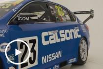 Nissan reveals Caruso Sandown retro livery