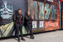 KISS Supercars tram unveiled in Newcastle