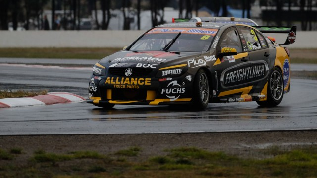 Percat blitzes Practice 2 at drying Winton