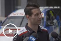 Caruso and Fiore arrive at Bathurst