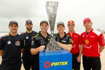 Lowndes/Richards in PIRTEK Enduro Cup box seat