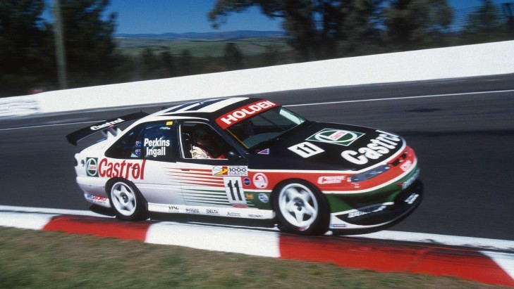 Larry Perkins on the way to victory in 1997. pic: AN1 Images