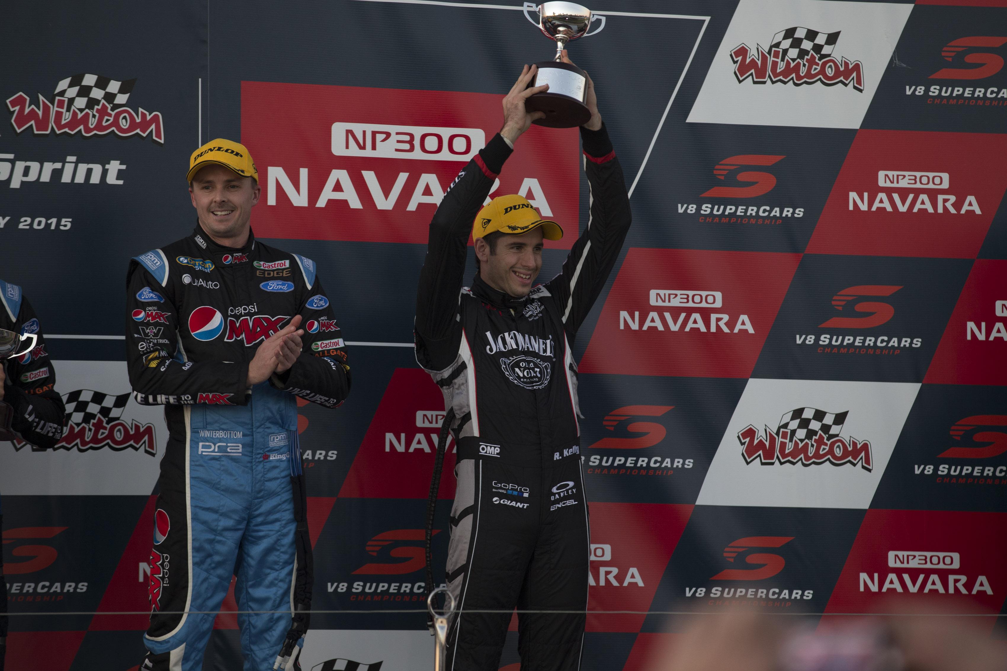 at the NP300 Navara Winton SuperSprint, Event 04 of the 2015 Australian V8 Supercar Championship Series at the Winton Motor Raceway, Winton, May 16, 2015.