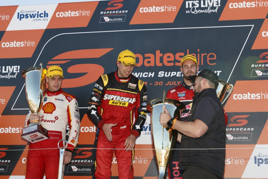 during the Coates Hire Ipswich SuperSprint, in Ipswich, Australia, July 30, 2017.