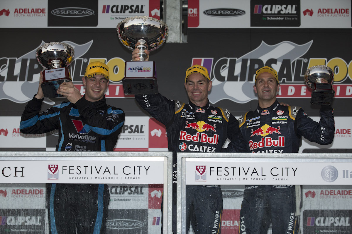 during the Clipsal 500, Event 01 of the 2014 Australian V8 Supercars Championship Series at the Adelaide Street Circuit, Adelaide, South Australia, March 01, 2014.