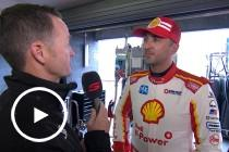 Coulthard: 'felt like an ice-rink'