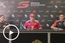 Sunday Press Conference – 2017 Perth SuperSprint
