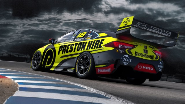 Preston Hire Racing reveals first ZB livery