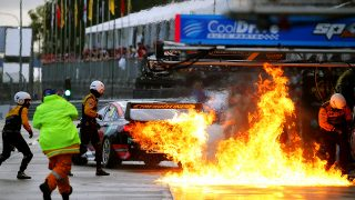 No penalty over pitlane fire