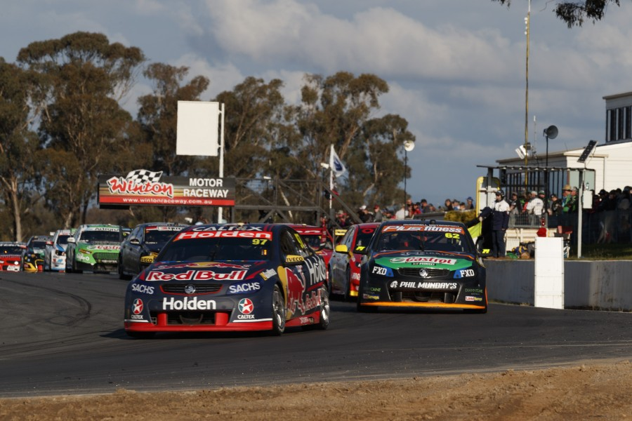 during the Winton SuperSprint, in Winton, Australia, May 21, 2017.