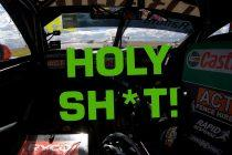 Race radio: Drivers let loose during epic crash