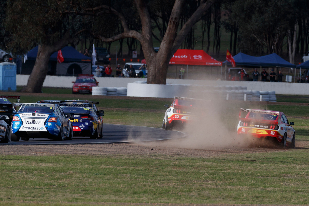 Teammate drama: first-lap contact, shortcuts and controversy - Supercars