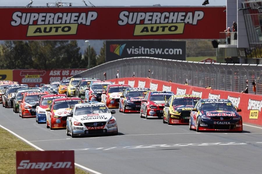 during the Supercheap Auto Bathurst 1000, in Bathurst, Australia, October 09, 2016.