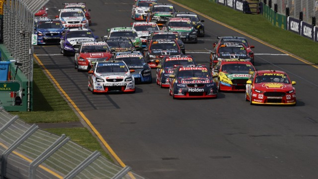 Supercars to race for Larry Perkins Trophy at AGP