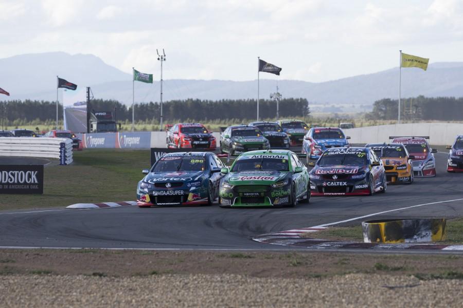 during the Tyrepower Tasmania SuperSprint, in Launceston, Australia, April 02, 2016.