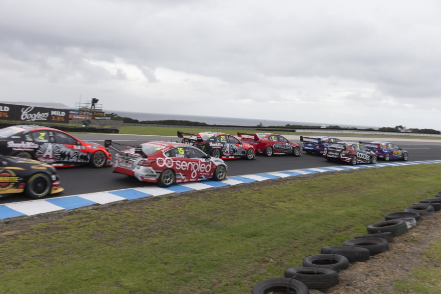 during the WD-40 Phillip Island SuperSprint, in Phillip Island, Australia, April 16, 2016.