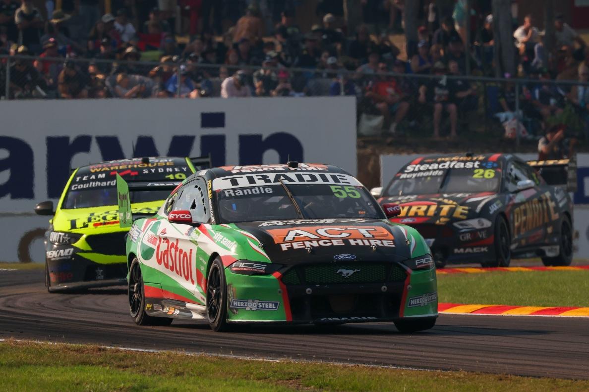 Ricciardo-like move a highlight for wildcard Randle - Supercars