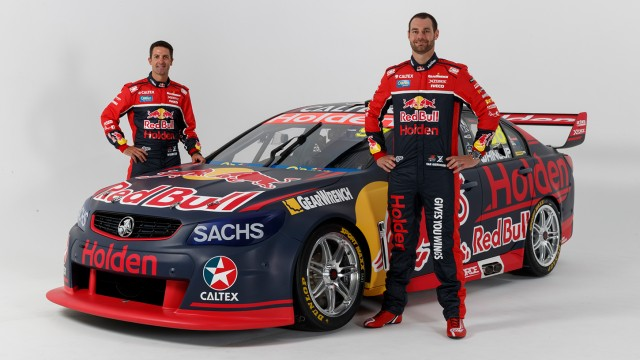 Enter the Red Bull Holden Racing Team
