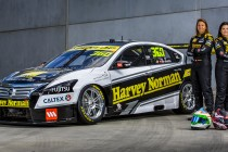 Harvey Norman Supergirls unveil striking livery