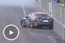 Rear wing failure causes high-speed Super2 crash