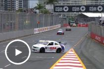 Aussie Racing Cars collide on pit straight