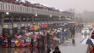 Qualifying washed out, Waters inherits pole