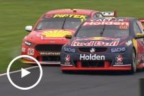 Whincup and McLaughlin in epic Race 23 battle