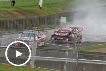 Van Gisbergen's title hopes shattered by crash