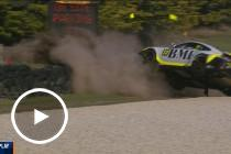 Major crash red flags Carrera Cup practice