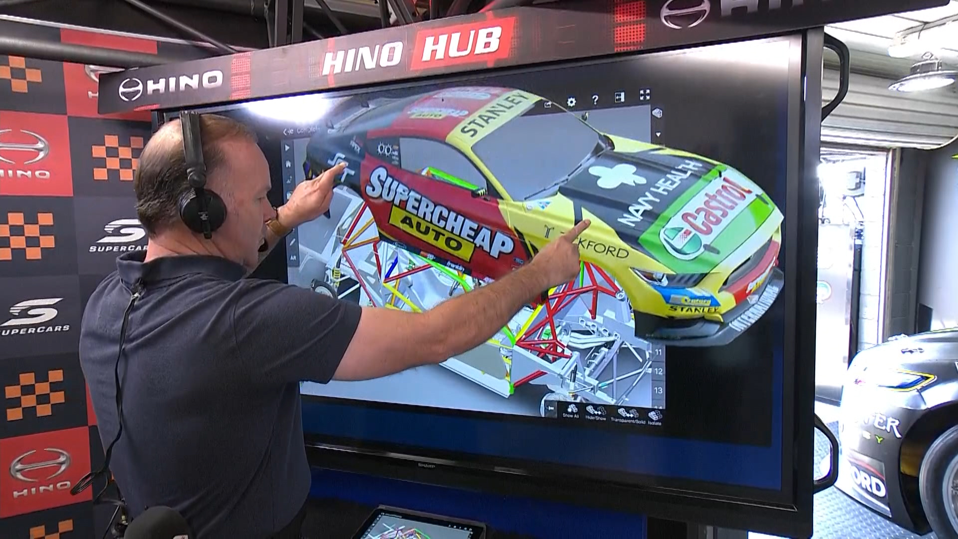 Larko gets under the skin of the Mustang | Supercars