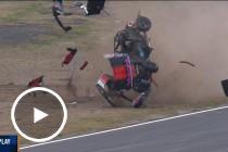 Aussie Racing Car gets airborne
