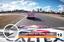Radio: Team told Coulthard to let SVG past