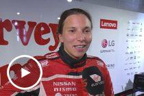 De Silvestro Nissan changed to wets too early