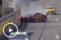 Heavy hit for Erebus rookie Brown