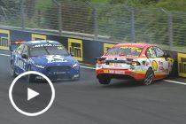 Coulthard crashes out of Race 28