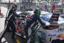 How a bubble triggered van Gisbergen penalty