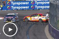 Coulthard and Whincup collide again in Newcastle