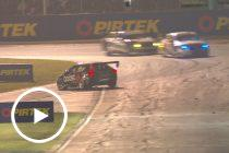 Golding, Winterbottom tangle at pit entry