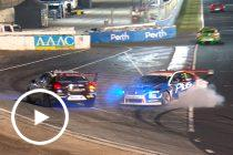 Pye, Heimgartner clash triggers Safety Car