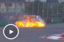 Jacobson engine failure turns to fire