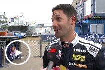 'Some idiot had to do it': Whincup on crash