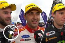 Top Three Interviewed: Race 18 2019 Townsville