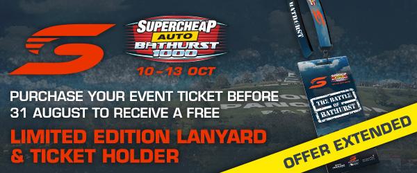 Tickets - Supercheap Auto Bathurst 1000 | Supercars